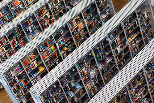 Books at library by Håkan Dahlström, on Flickr