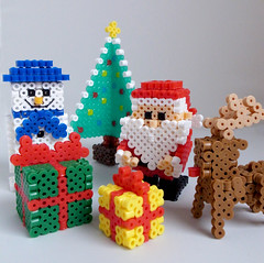 Merry Christmas! (miomio5) Tags: christmas xmas crafts perlerbeads