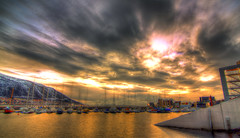 DSC03524And12more_tonemapped (tmv_media) Tags: pictures trip winter sky colour water norway photography norge photo twilight europe december colours image photos top sony awesome north picture wideangle pic images arctic norwegian tokina photograph toms scandinavia northern ultrawide artic hdr waterside 2012 tromso tromsø a77 troms scandanavia bracketed northernnorway tromsøya tromssa sunbelowthehorizon 1116mm romsa northofthearcticcircle 13shot tomvooghtphotography tomvooght above66degrees