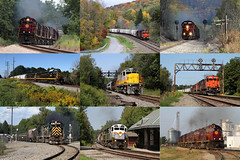 ALCO - 2012 Review (M. Lastovich) Tags: new york am pennsylvania smoke trains missouri western arkansas avon railroads lal livonia alco lakeville mlw gvt c420 c424 wnyp m636