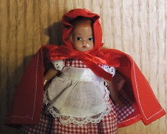 Wee Patsy Little Red Riding Hood (Eurynome101) Tags: littleredridinghood smalldolls weepatsy dollcensus