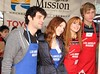 Los Angeles Mission Christmas Eve For The Homeless Featuring: Dani Thorne, Bella Thorne, Tristan Klier Where: Los Angeles, California, United States When: 23 Dec 2012 Travis Wade/WENN.com
