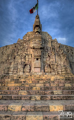 Monumento a la Patria (Sergio Garcia Rill) Tags: panorama sculpture art monument public mexico monumento flag pano yucatan panoramic merida bandera patria 2012 paseomontejo rmulorozo