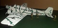 "Ju-52 from the classic war film ""where eagles dare"" (raymondmarron67) Tags: model german ww2 raf 172 luftwaffe ju52 whereeaglesdare"