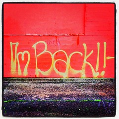 I'm Back!! by ahockley, on Flickr