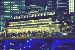 The Fullerton Hotel (Dodz Photography) Tags: marina hotel bay singapore places esplanade rafflesplace marinabay thefullertonhotel dodzphotography