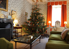 Leeds Castle 8691 (Tony Withers photography) Tags: christmas uk tree castle lady kent leeds olive historic 2012 baillie