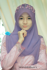 Wedding Fizi & Fathin (afandimohamad) Tags: hijab flowerofislam