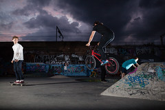 Mile End (Rob.Young) Tags: canon bmx mark f14 flash ii l 5d 24mm usm ef tt5 tt1 24l pocketwizard strobist 5d2 ef24lii canonef24mmf14usmlii