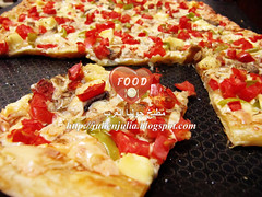 Quick Puff Pastry Pizza (Food Lover ) Tags: food cooking recipe yummy fastfood puff pizza pastry quick