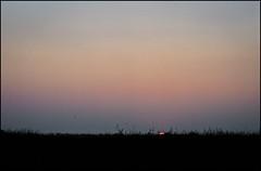 *** (dmitry_ryzhkov) Tags: light sunset red summer sky sun color art film nature field grass yellow analog 35mm river landscape photography evening photo europe day village shot minolta photos outdoor live picture ukraine scan epson reversal poltava dinax raion poltavskaya lazorki orzhitsa