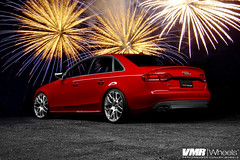 Happy New Year from VMR Wheels (VMR Wheels) Tags: 20 audi dawson vmr coilovers audis4 boost brilliantred functionform b8a4 velocitymotoring b8audi b8s4 vmrwheels