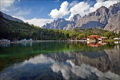 Shangrella resort  on lake lower Kachura Skardu pakistan (saleem shahid) Tags: