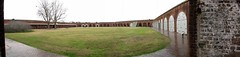 Fort Pulaski Pano 2 (zzazazz) Tags: autostitch panorama history ga georgia island war fort battle civil georga tybee artillery pulaski cockspur