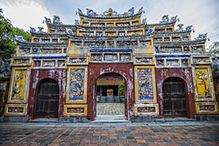 Four Doors (mephistofales) Tags: chinese palace vietnam hue indochine indochina imperialcity centralvietnam nguyendynasty