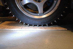 2013-01-05 FirstStudMounted_19 (Absinthe-N-me) Tags: subaru iceracing studdedtire