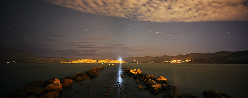 "Quail Island Nightscape • <a style=""font-size:0.8em;"" href=""http://www.flickr.com/photos/45056616@N00/8356285145/"" target=""_blank"">View on Flickr</a>"