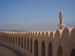 Sultanat d'Oman (Minigeekette) Tags: oman moutains nizwa mosquée