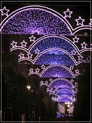 NAVIDAD DE ARCOS Y ESTRELLAS (GIJÓN) (Sigurd66) Tags: christmas españa navidad spain asturias espagne gijon xixon asturies cantabrico costaverde principadodeasturias costacantabrica principautredesasturies