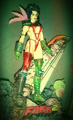 Julie Strain HEAVY METAL 2000 F.A.K.K. Fantasy Figure...  Shot with my Cell Phone Camera is a lot of fun!  It won't replace my Canon 40D, for sure, but it is fun and Quick. ~ IMAG0347-1-1 (BrandyVSOP) Tags: camera red woman records tower statue metal lady female toy doll 2000 julie phone action vinyl picture cell plastic fantasy figure heavy figures exclusive collectibles pvc figureine strain regular redoutfit 2013 fakk2 dpstoys htcevov4g faakk2 sexyfantascy
