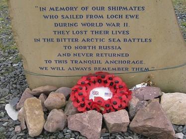 Arctic comvoy memorial, loch ewe