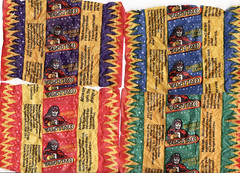 Mid 1990s Regina Astro  5 Cent Bubblegum Wrappers - New Zealand (NZCollector) Tags: new gum cards promo stickers allens zealand packaging chewing products bubblegum regina collectables playtime promotional wrapper collectibles wrappers collectable kiwiana