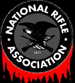 From flickr.com/photos/32345848@N07/8388466124/: NRA, exploiting a tragedy to advance a pre-existing political and economic agenda