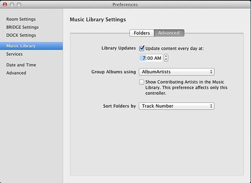 SONOS Auto Update Library
