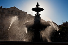 Lisbona-008 (Alessandro Grussu) Tags: life street city urban portugal fountain canon square strada lisboa lisbon platz strasse capital hauptstadt brunnen stadt urbana 5d lissabon piazza capitale fontana vita citt lisbona portogallo