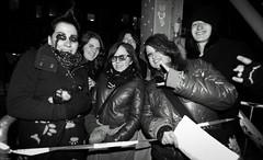 Fans (Brian Krijgsman) Tags: blackandwhite bw film amsterdam photography concert nikon fotografie photos live gig grain fans brug zwart wit melkweg themax d3s briankrijgsman