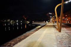 Jelgavas promenade-27 (www.grasbergsfoto.lv) Tags: night cityscape latvia promenade jelgava vakars vietas