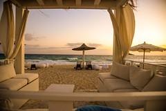+VE Energy! .. (Hazem Hafez) Tags: beach sunrise sand mediterranean lounge meditation seating comfort luxury cushions summerresort