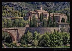 Cartoixa de Porta Coeli (Carthusian monastery of Porta Coeli) Serra, el Camp del Tria, Valncia, Spain (Rafel Ferrandis) Tags: monestir serra hdr eos5dmkii ef100400mmf4556lii