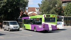 SN53 AVP, Ipswich Buses (ex Lothian) Dennis Dart 137, Old Cattle Market Bus Station, 17th. August 2016. (Crewcastrian) Tags: ipswich buses ipswichbuses oldcattlemarketbusstation transport dennisdart sn53avp 137