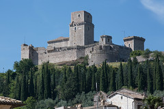 Rocca Maggiore (n'oras_et_narie) Tags: assisi italie italia umbria assise ombrie