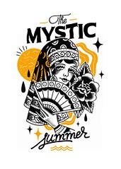 OKER & ARDE (Okerland) Tags: mix oker arde tattoo styles types summer lady gipsy sun
