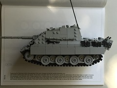 Comparison with Reference (-PanzerGrenadier1-) Tags: lego ww2 tank afv sdkfz 173 jagdpanther destroyer german miag asuf g1