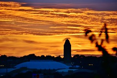 One More 'Dog Days of Summer' #SundownCowtown (Cowboy Dan Paasch) Tags: will rogers memorial coliseum fort worth