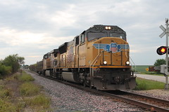 UP 5025 Take 2 (CC 8039) Tags: up ice dme cp trains sd70m ac44cw tech train lanark illinois