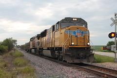 UP 5025 Take 2 (CC 8039) Tags: up ice dme cp trains sd70m ac44cw tech train lanark illinois