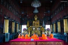 Buddhist (langthangdaydo) Tags: people travel light tourism thailand bangkok architecture temple building asia pray buddha buddhism buddhists amitabha buddhist monk monks man men indoor house religion culture traveling