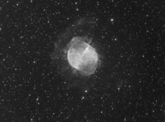 M27 11x900 QSI 583ws 5nm Astrodon ha filter, AP reducer Meade 200mm (saundersfay) Tags: m27 dumbbell nebula vulpecula