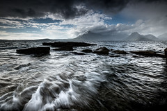 Showers in the Cuillins (PhotoToasty) Tags: skye cuillins drama seascape elgol
