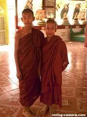 Young Monks at Hmwe Paya (Snake Temple), Paleik, Myanmar, 2016 (deemixx) Tags: myanmar buddhistmonk buddhism buddhisttemple snake temple