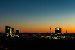In the glow of the night I (MyMUCPics) Tags: münchen munich nightshot nachtaufnahme sunset sonnenuntergang langzeitbelichtung longexposure architektur architecture blauestunde dusk city stadt deutschland germany