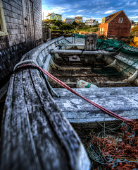 Crappy old Boat at Peggys Cove (Steve Muise) Tags: old rotting rustic boat peggys cove nova scotia fishing