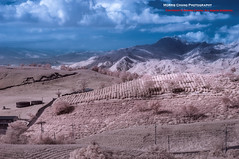 [IR] Sixty Rock Mountain, Hualien, Taiwan  ( (Morris)) Tags:     taiwan balloon    blue green red cloud sunset sun sky yellow outdoor     ir mountain