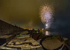 San Roque 2016 Olympus (omar huerta) Tags: fuegos sanroque 2016 olympus omd em10 samyang ledlenser llanes asturias microcuatrotercios fiestas playa mar cielo