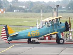G-PTBA Boeing Stearman (Aircaft @ Gloucestershire Airport By James) Tags: gloucestershire airport gptba boeing stearman egbj james lloyds