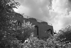 Abandoned facilities (dwimagesolutions) Tags: england essex stanfordlehope bw infrared postindustrial nikond7200 sigma1020mmf456